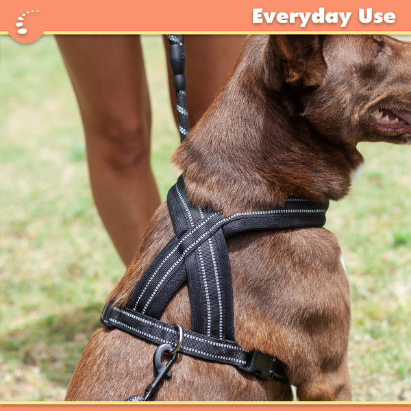 Zenify Pets Dog Harness - Chest Vest Cross Adjustable