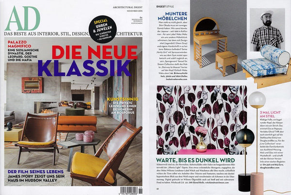 Architectural Digest Germany November 2015