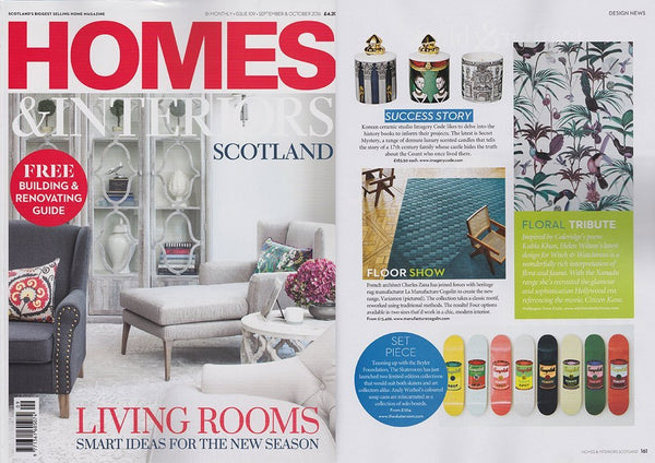Homes & Interiors Scotland  September / October 2016