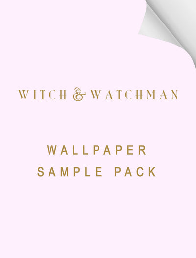 Witch and watchman mixed wallpaper sample box
