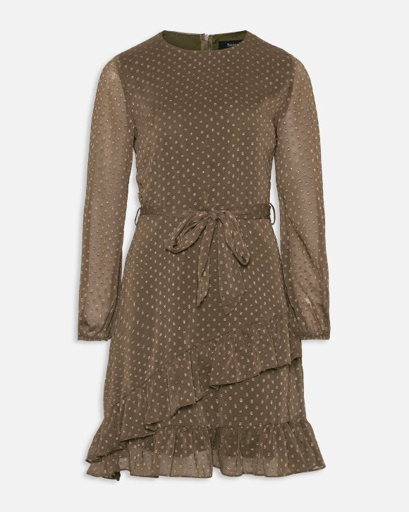 Nyto dress khaki/brown