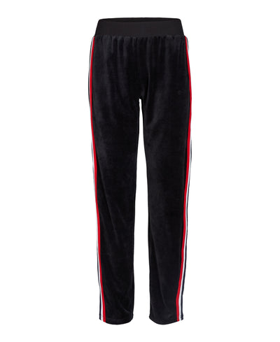 Bono velour pants black