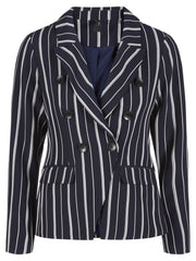Clady striped blazer night sky /w stripe a