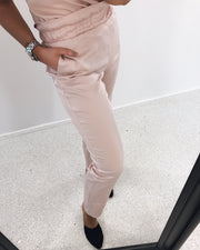 Dala hw loose pants sepia rose