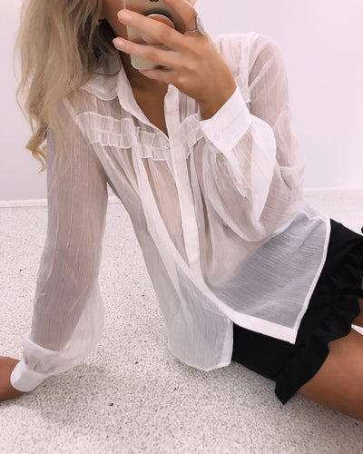 Dalina shirt white