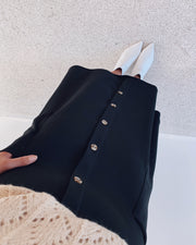 Gin skirt black
