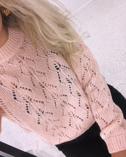 Hua sweater rosa