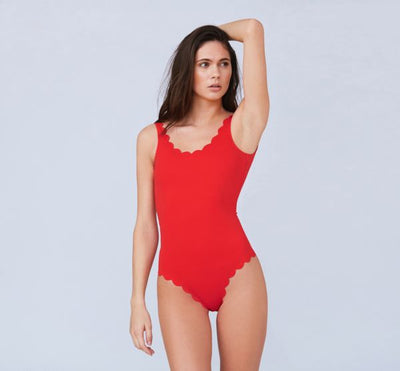 Silje Swimsuit Red