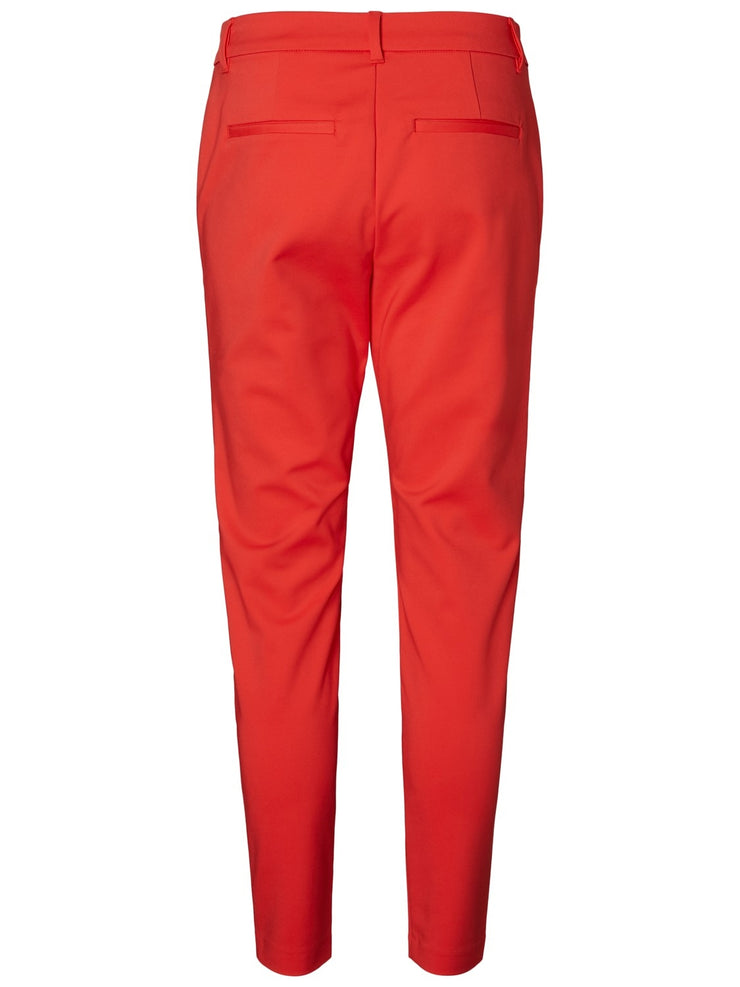 Victoria NW ankle pants poppy red