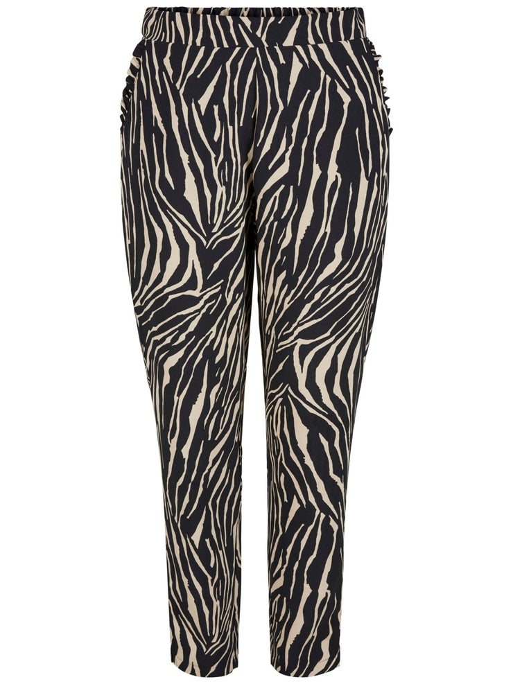 Zeri pant zebra brown/black