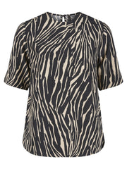Zeri tee zebra brown/black