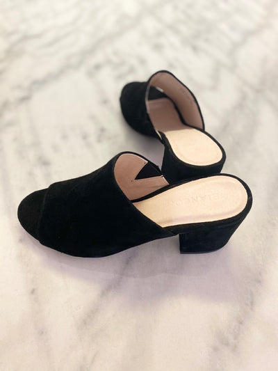 Heeled sandal black