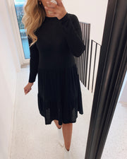 New vini long sleeved dress black
