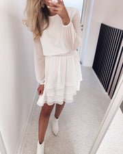 Nicoline dress white