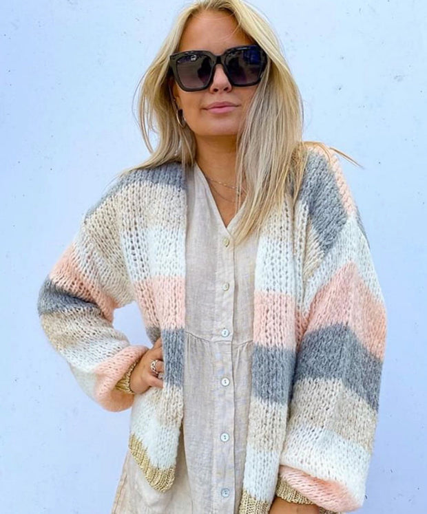 Kala knit cardigan light pink