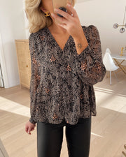 Jada blouse black