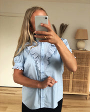 Gabriella shirt light blue