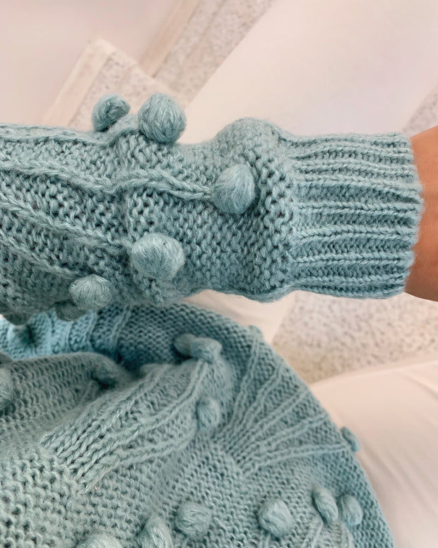 Hace knit mineral