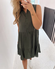 Nibi shirtdress khaki
