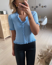 Fabia blouse light blue