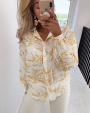 Nosh shirt cream/yellow