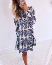 Iloss dress blue