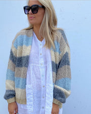 Kala knit cardigan blue