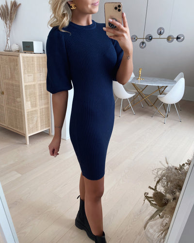 Halia dress navy
