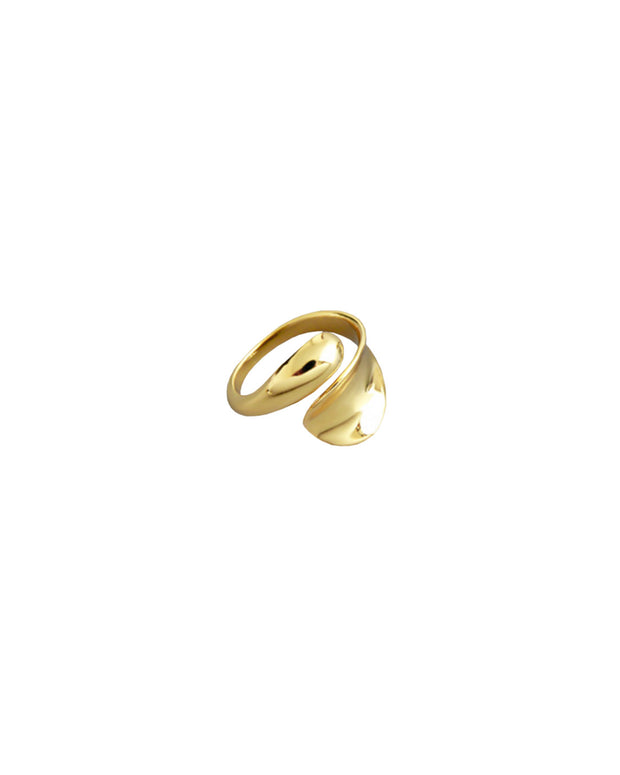 Drop ring gold