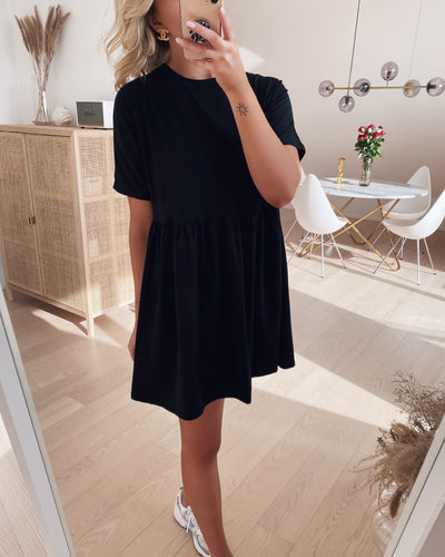 Kerry s/s short dress black