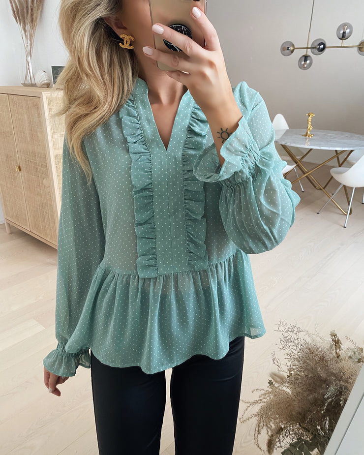 Ilse blouse mint