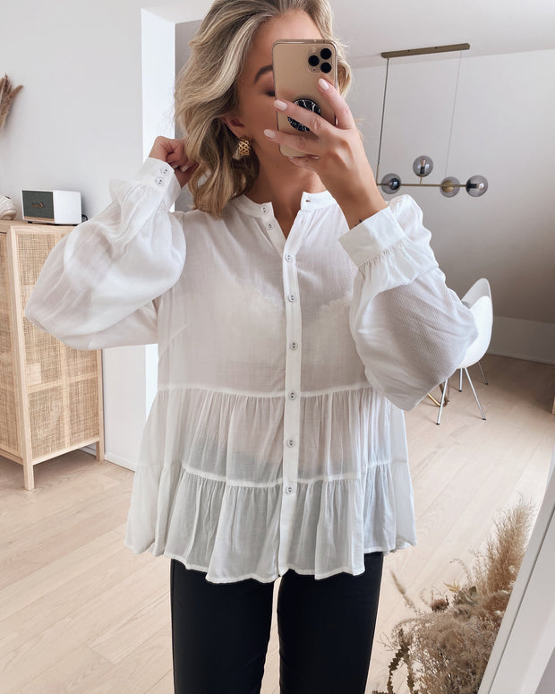 Elea shirt off white