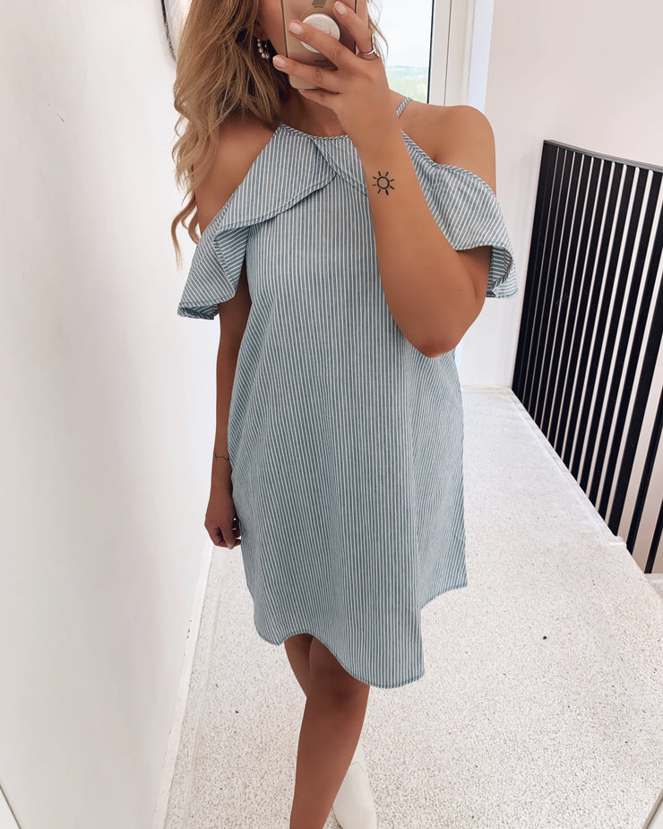 Sandra dress light blue