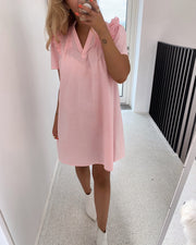 Camilla t-shirtdress rosa