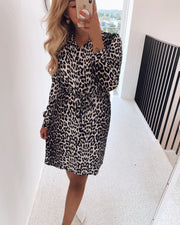 Maida shirtdress leo