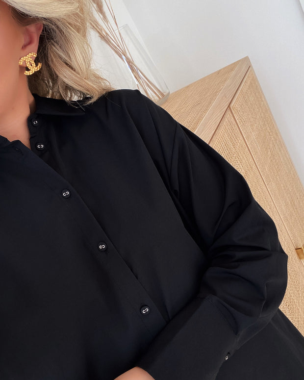 Meda shirt black