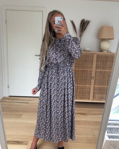 Tanisa maxi dress adobe rose