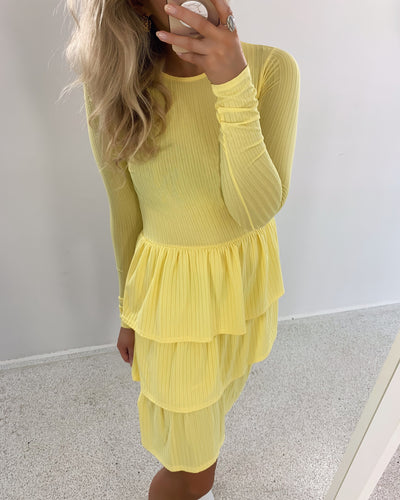 Cris dress yellow