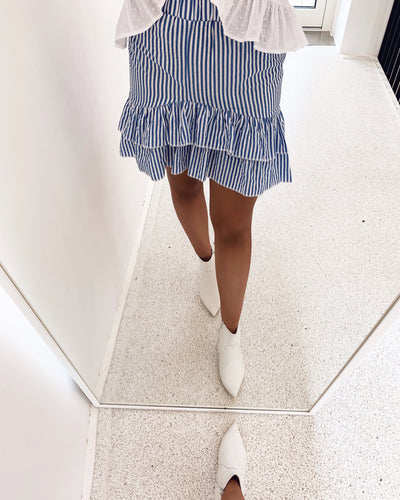 Erub skirt blue/white
