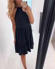 Glass dress black