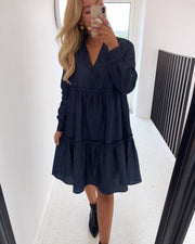 Edita dress dark denim
