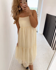 Agnethe dress sand
