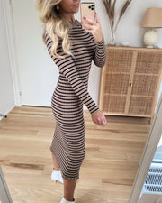 Jeanie knit dress