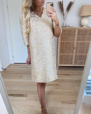 Love492 Dress Powder/Gold