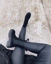 Catalina boots black suede