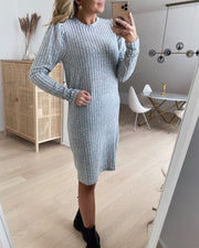 Virna dress l. grey mel