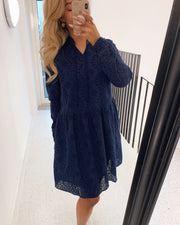 Vilke dress navy