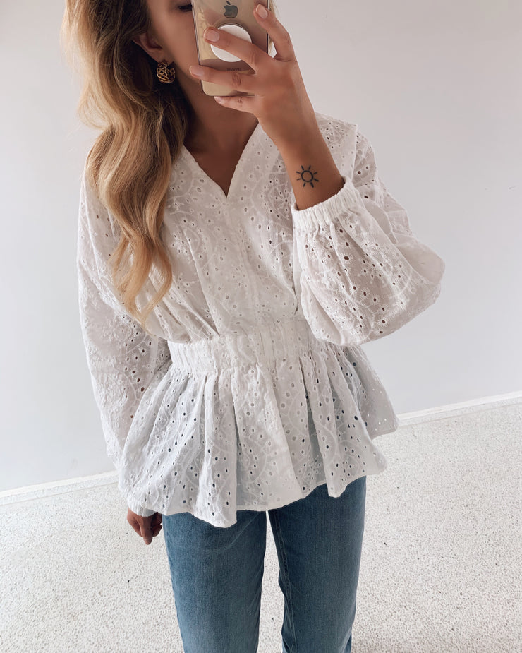 Falke blouse white