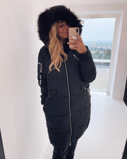 Chunky jacket black