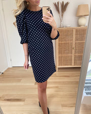 Velja dress navy/dot